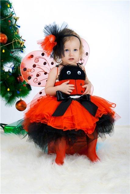 Новогодний костюм для девочек 3 года своими руками