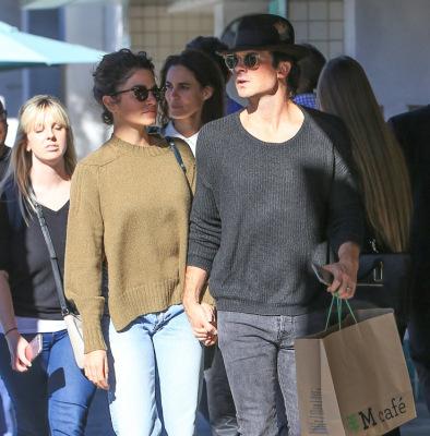 Йен и Никки Рид в Лос-Анджелесе [21 ноября]