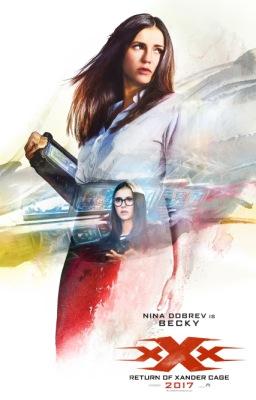 Постер фильма «Три икса: Мировое господство» с Ниной