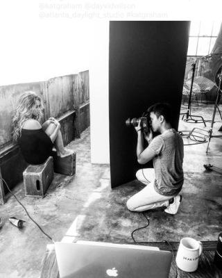 Фотосессия Катерины для Beautycon