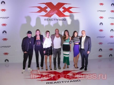 xXx: Return Of Xander Cage Photocall in Mexico [5 января]