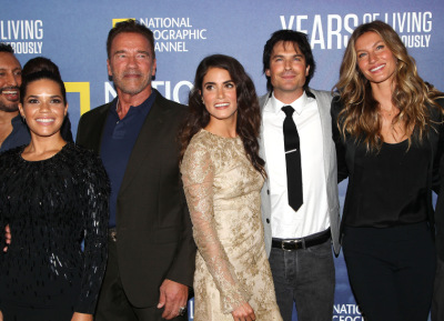 National Geographic's 'Years Of Living Dangerously' new season world premiere at American Museum of Natural History [21 сентября]
