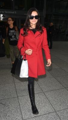 Нина в аэропорту Лондона [10 января]