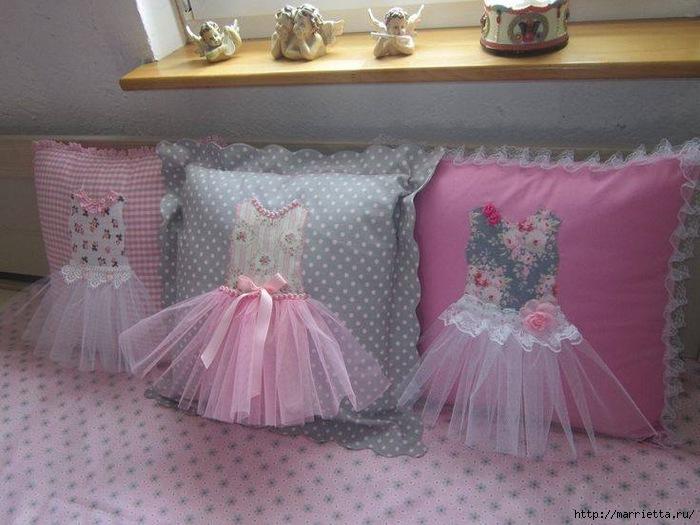 Подушки для детской декоративные своими руками