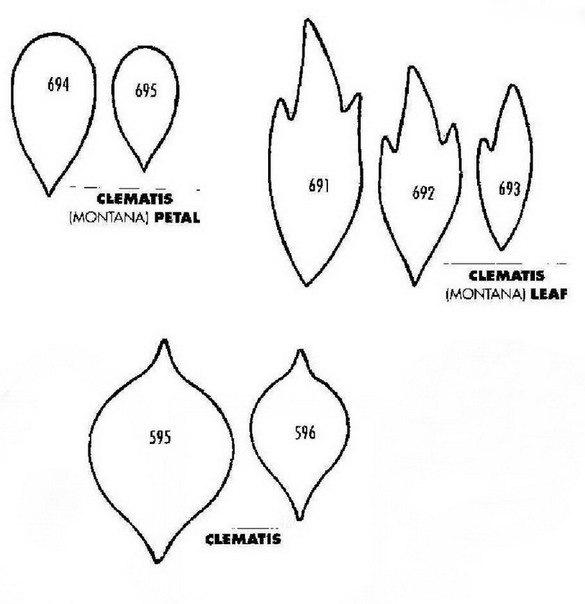 Клематис из фоамирана мастер класс с пошаговым