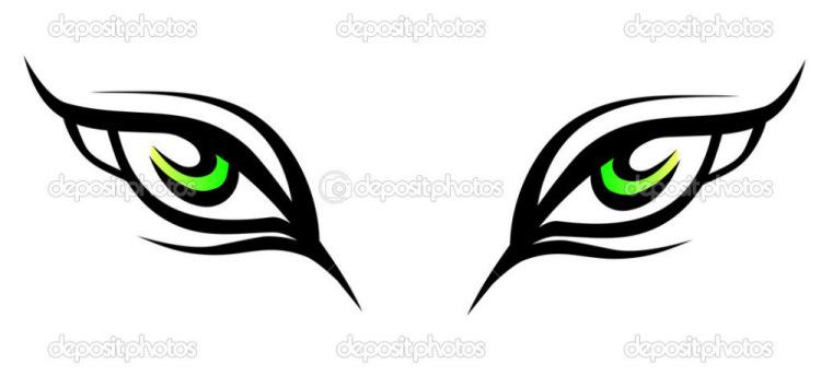 Кошачий глаз тату