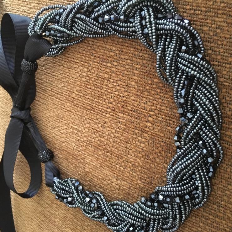 Ожерелье из бисера своими руками мастер 73