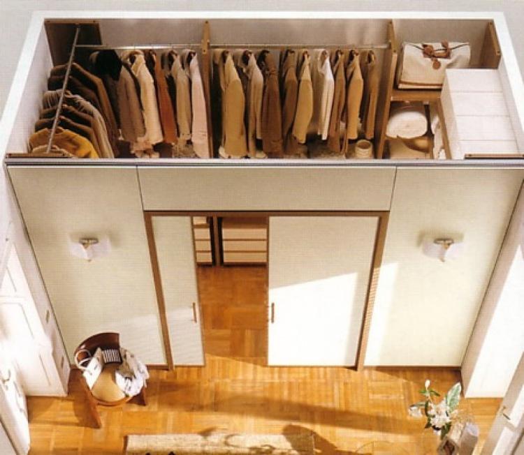 Как красиво сделать гардеробную