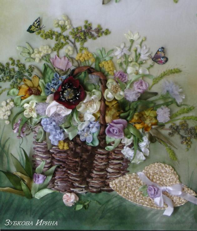 Ирина кириленко вышивка лентами 52