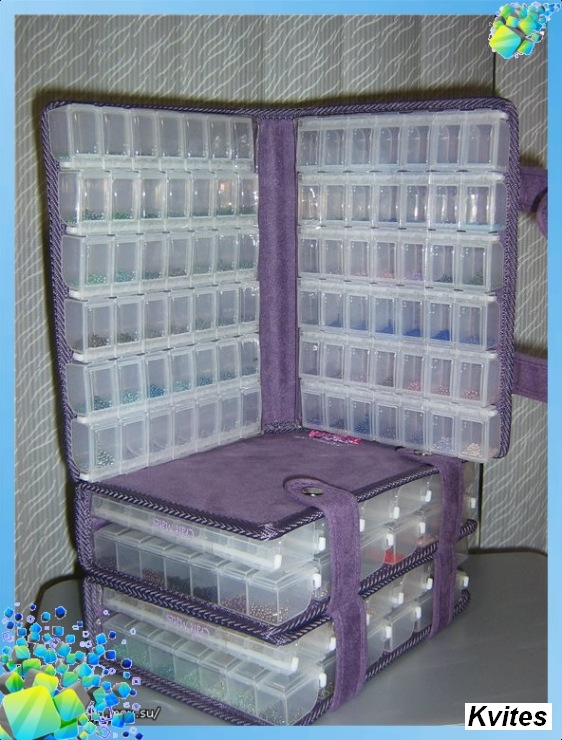 Коробки для хранения бисера