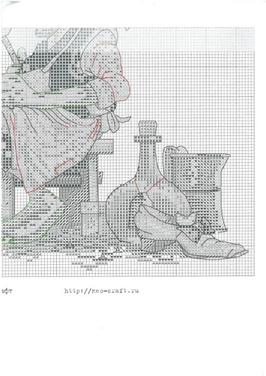 Все схемы вышивки антоновой 64