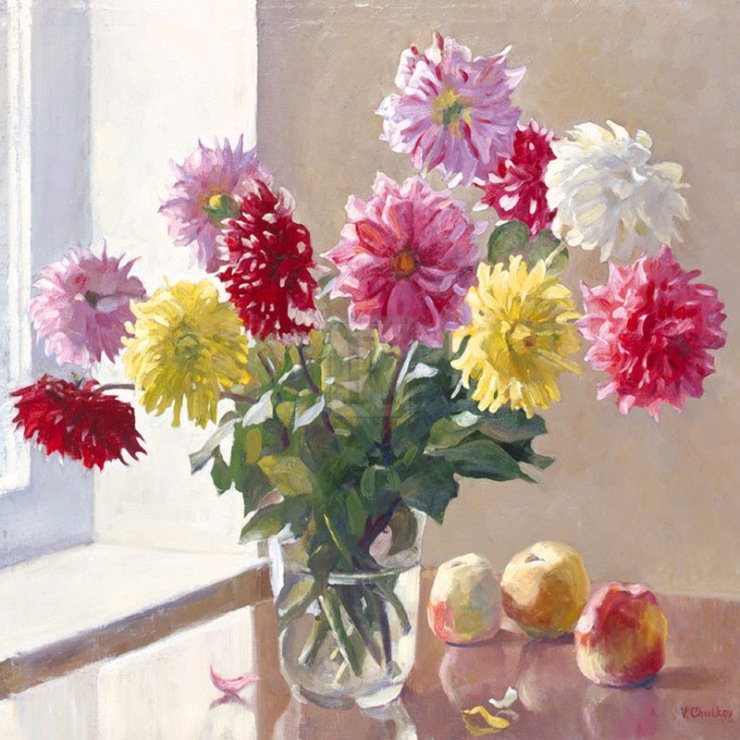 Flowers from strauss by valeriy chuikov