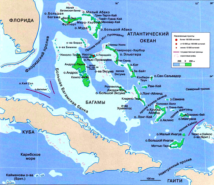 Related bahamas maps and bahamas satellite images