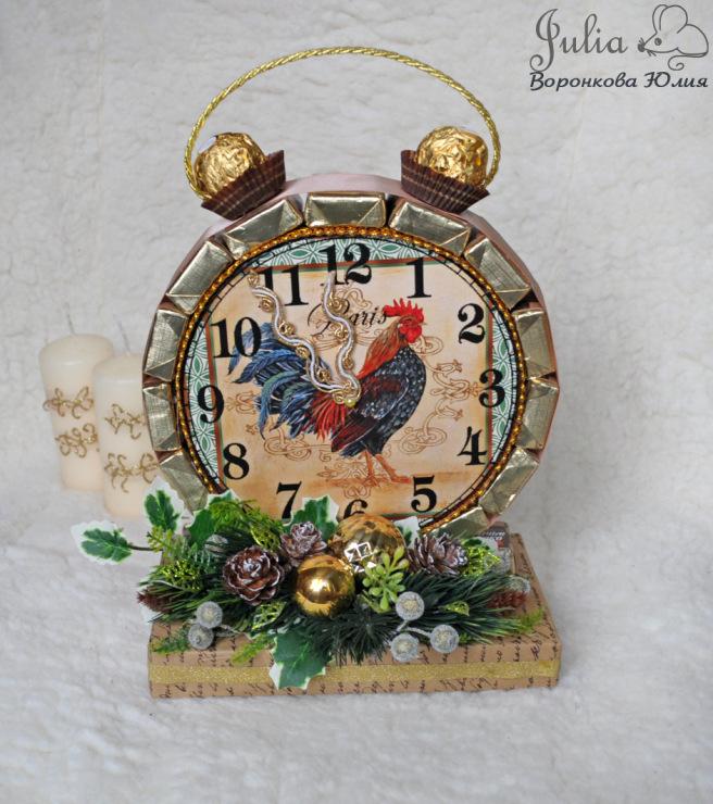 часовник будилник с петел - бонбони