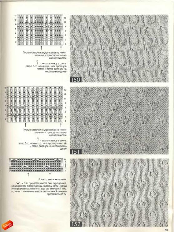 Вязание спицами из журнала бурда со схемами