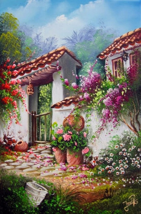 Pinturas al oleo paisajes rurales pinturas al 0f3leo paisajes