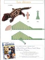 Поделки из бисера лягушка схема 97