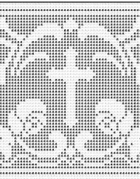 Филейное вязание кресты 34