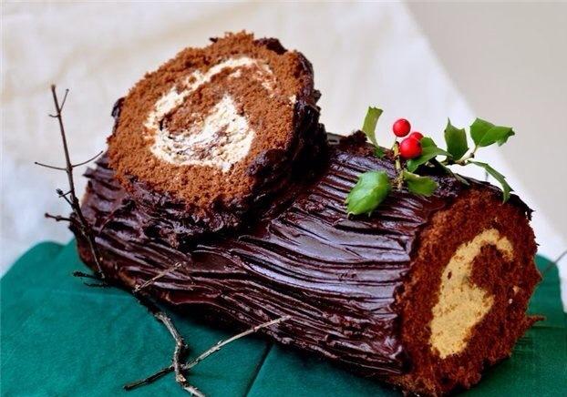 Торт полено рецепт с пошагово в домашних