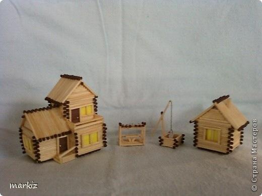 Спички постройки дома
