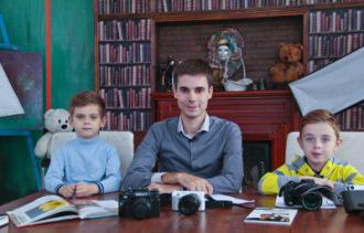 Преподаватель фотографии Виктор Седов -